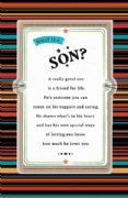 What is a Son Birthday Card